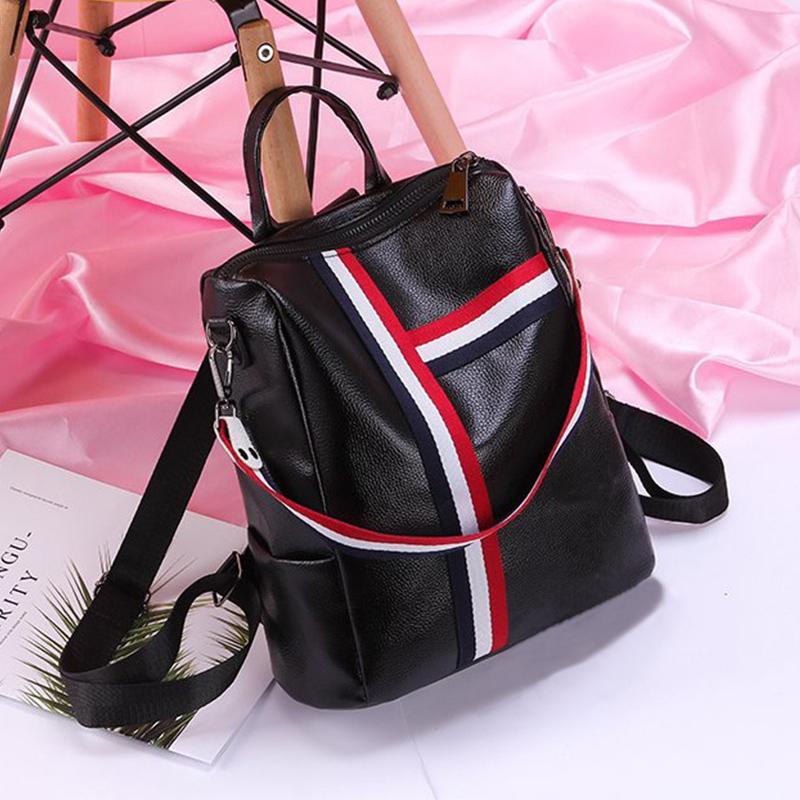 Backpack Fashion Tas Ransel Wanita / Tas Punggung Terbaru / Ransel Kulit Cewek AR03 - Atdiva