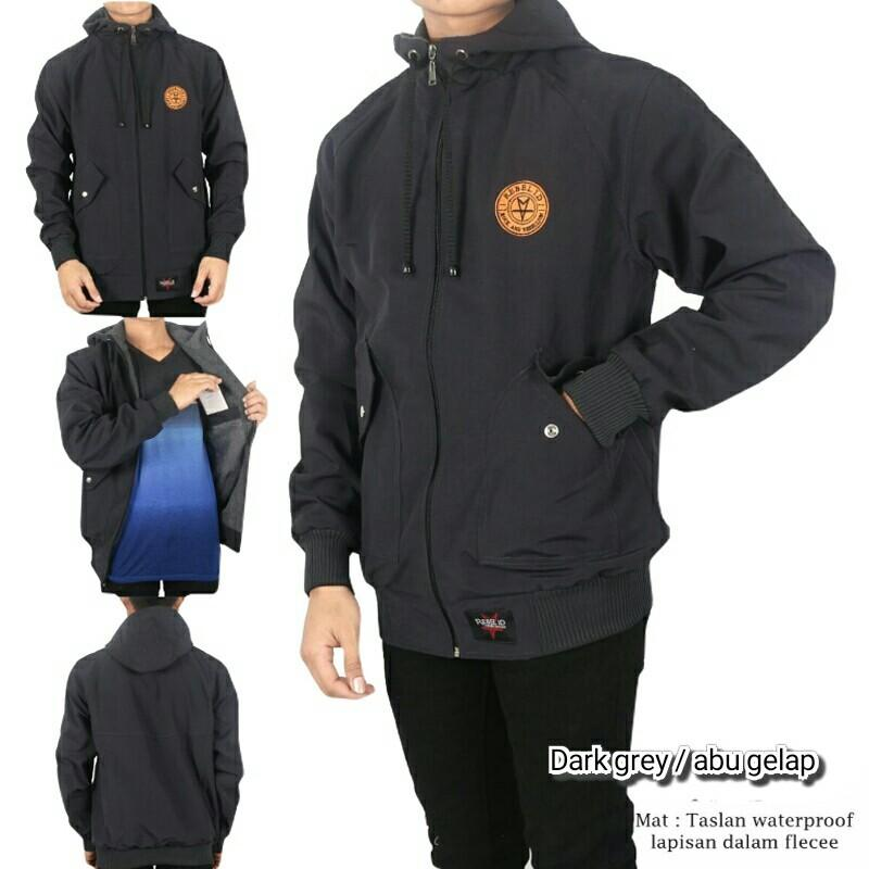 Blues Clothing / Rebel Id / Fashion Pria / Jaket Parasut Pria / Jaket Parasut Casual / Jaket Semi Parka 02 New Model