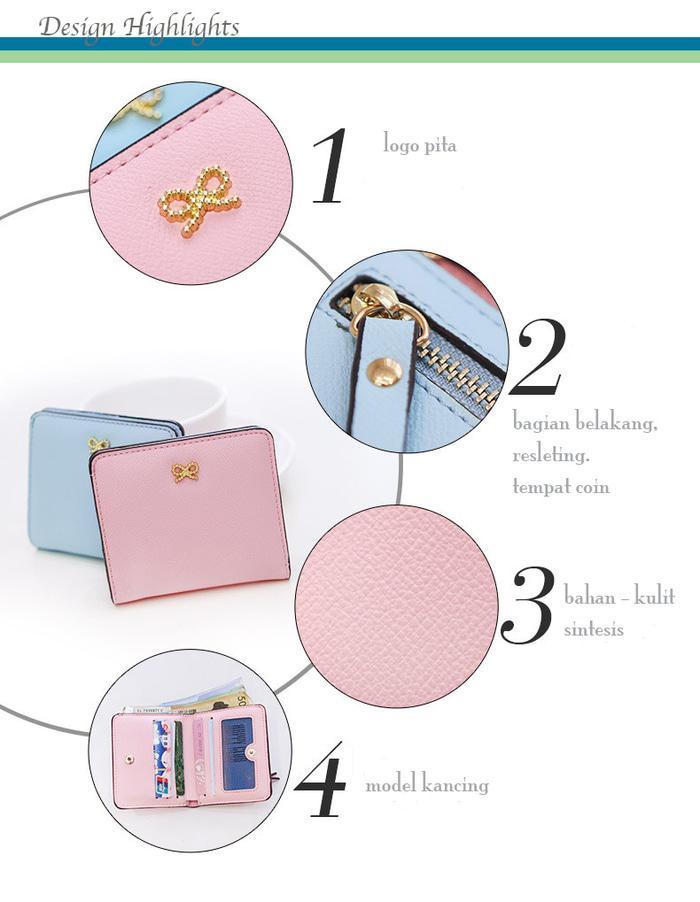 Detail Gambar Dompet wanita mini kecil pendek import murah rtFup6 Terbaru .