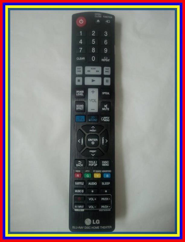 Remot Remote DVD Home Theater Bluray LG AKB73635409 Ori Original Asli
