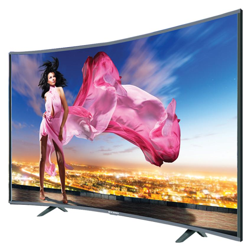 Ichiko S4998 Televisi LED 49 UHD Curve