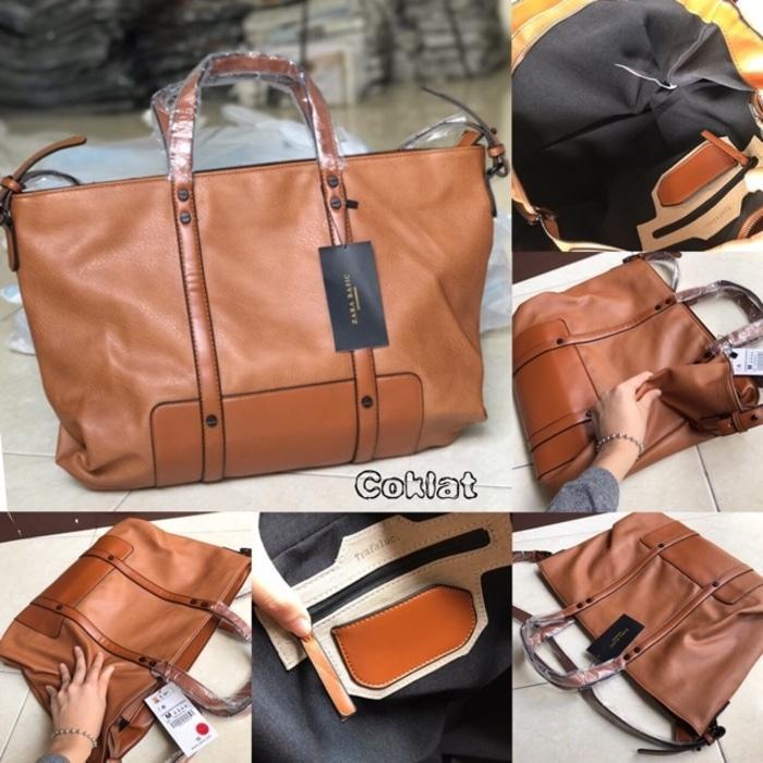 Tas Wanita Zara Basic Original Tas Kerja Tas Import Murah Berkualitas - NeQ2vR