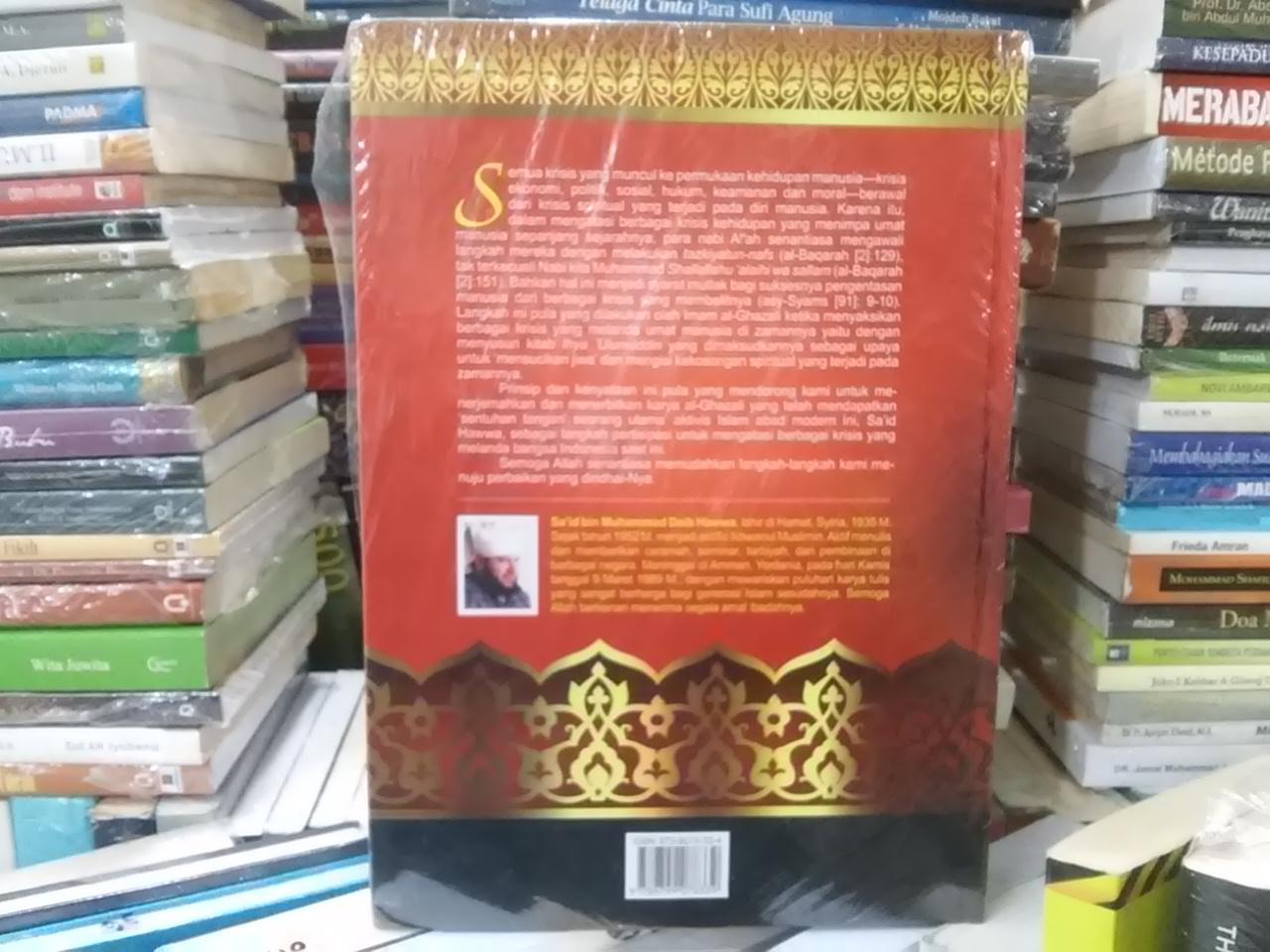 Buku Menyucikan Jiwa : Intisari Ihya Ulumuddin Al Ghazali - Said Hawa