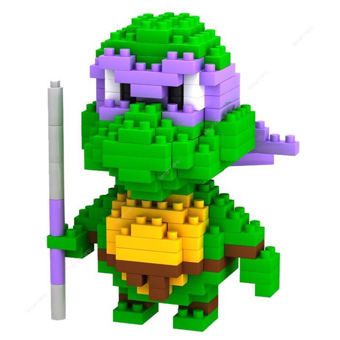 BEST SELLER!!! LOZ Lego Nano Block Nanoblock Ninja Turtle Donatello Purple - OzfLyY