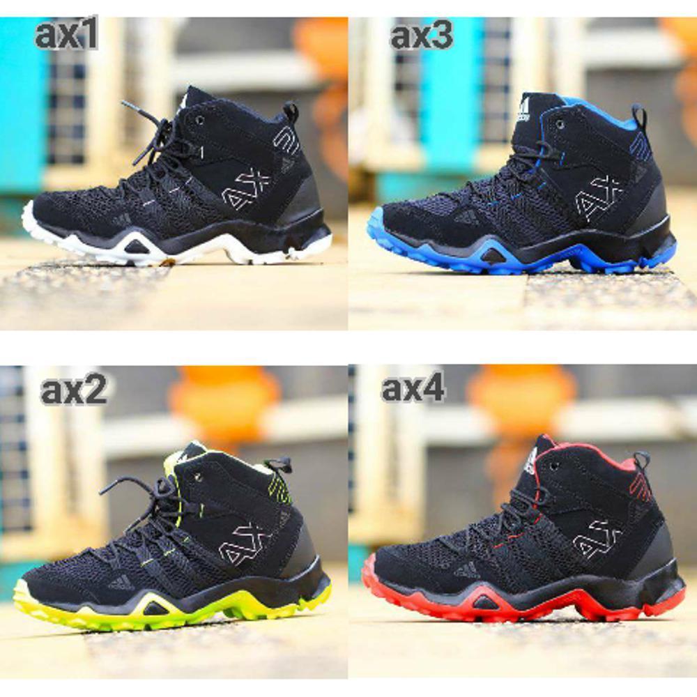 Promo Sepatu Tracking Olahraga Adidas Ax2 Outdoor Gunung pasangan cuople pria wanita women merah hitam biru abu grey Fashion
