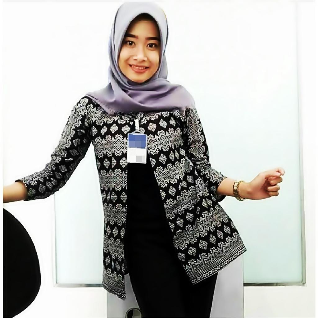 Jual Baju Batik Terbaik Blouse Kantor Wanita Kemeja