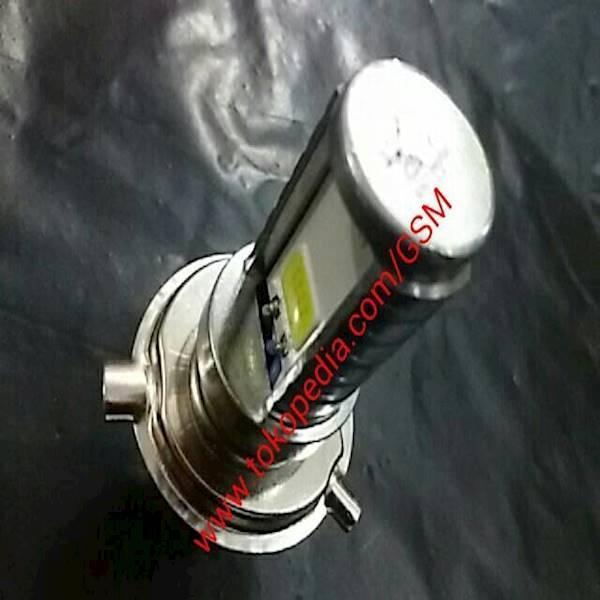 Lampu Utama LED CREE H4 Headlamp 2 Sisi Motor Mobil Berkualitas