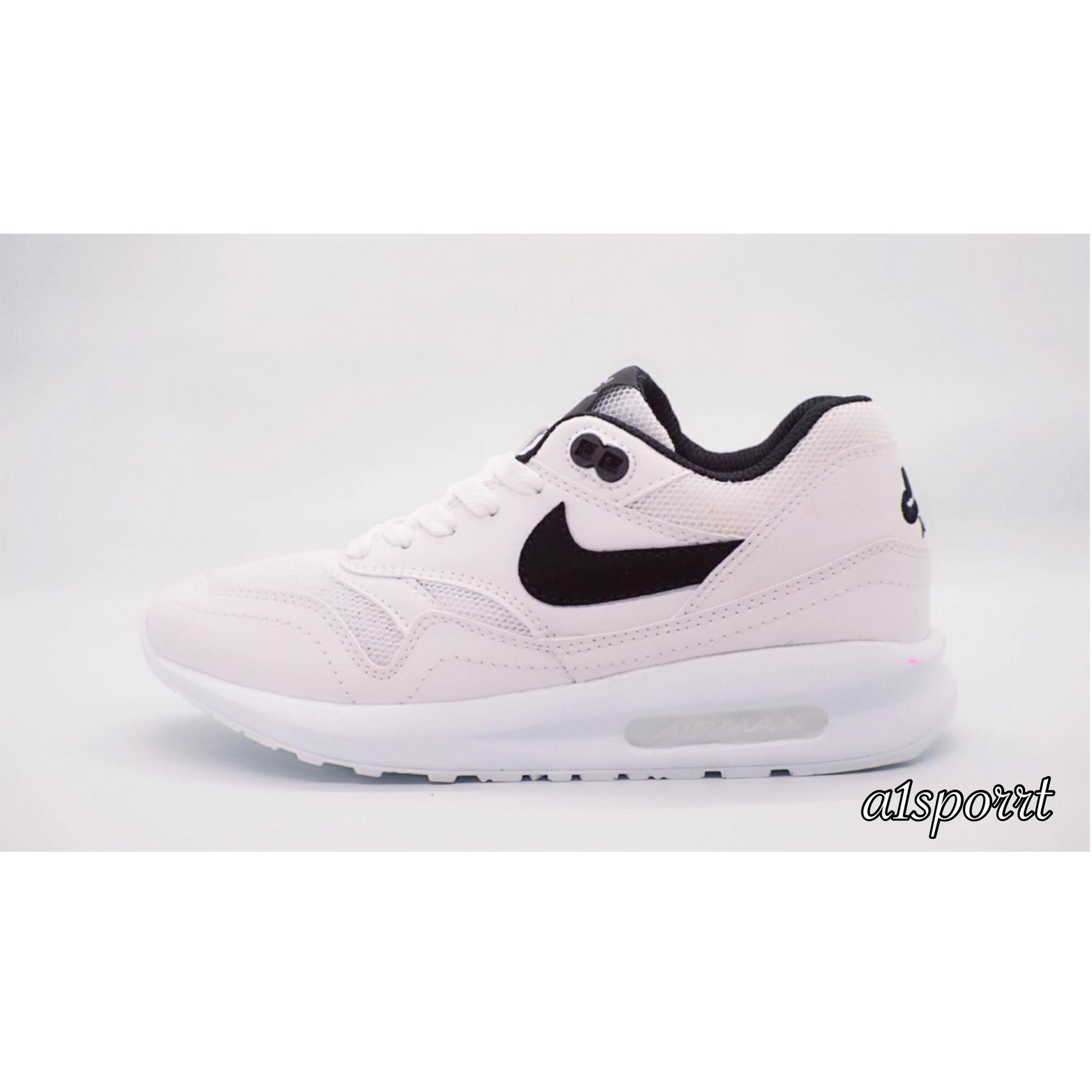 Sepatu Murah Nike Airmax Kualitas Premium Putih List Hitam