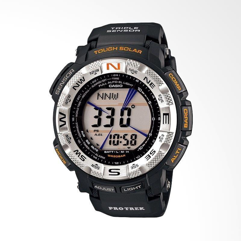 Casio Protrek Triple Sensor PRG-260-1DR Jam Tangan Pria - Hitam