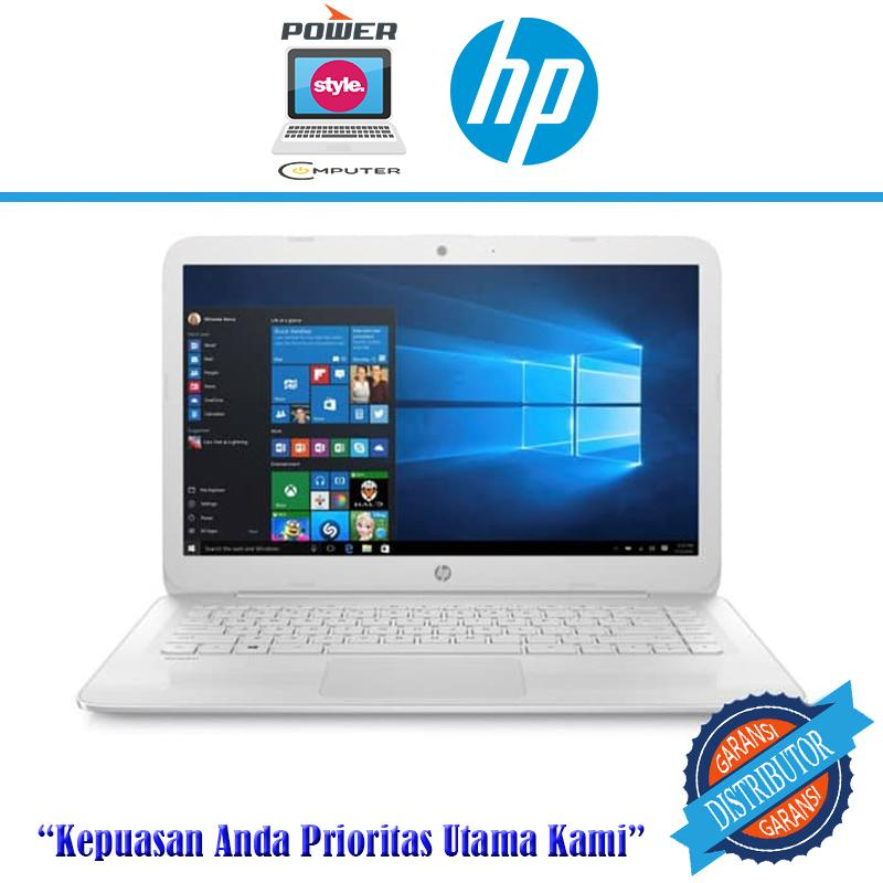 HP STREAM 14-AX012DS - N3060- 4GB- 32GB- WIN10- 14HD- WHITE