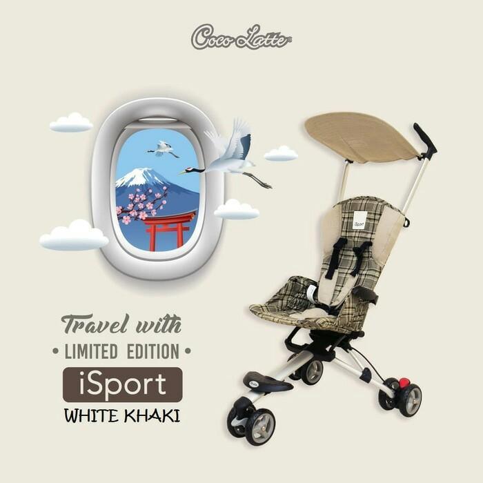 harga Cocolatte Isport Stroller Limited Edition Lazada.co.id