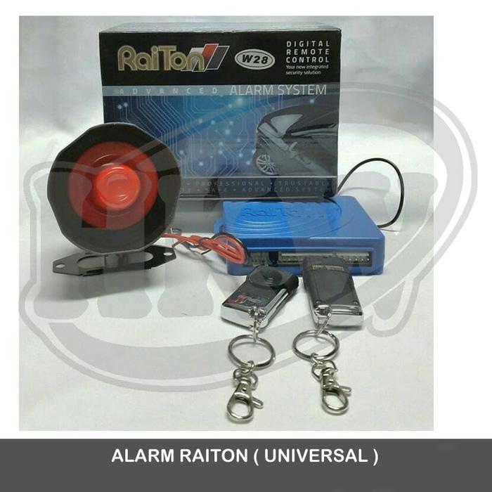 Alarm Merek Raiton Mobil Suzuki Carry