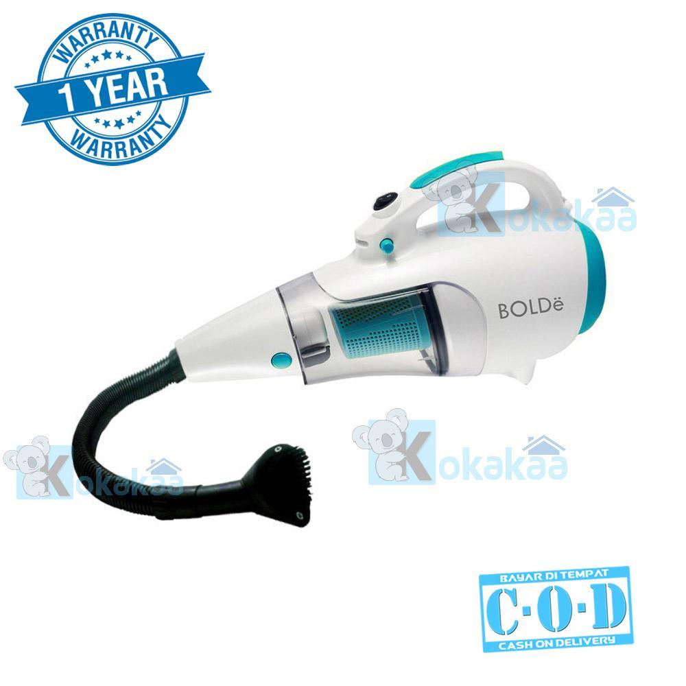 Bolde Turbo Super Hoover Vacuum Cleaner with Elastic Hose & Blower Bundle Vacum Cleaner - Putih-Biru
