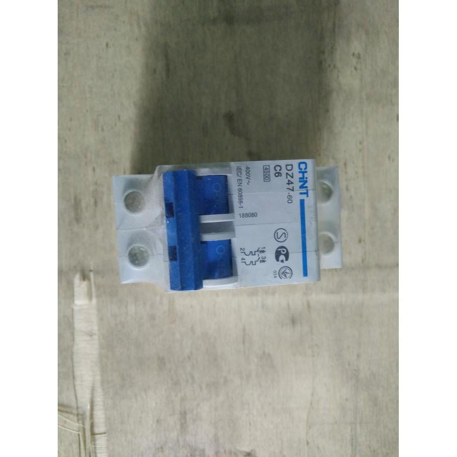Buy Sell Cheapest Mcb Chint 2p Best Quality Product Deals Miniature Circuit Breaker Elektro Eb 4 5ka 1a 2a
