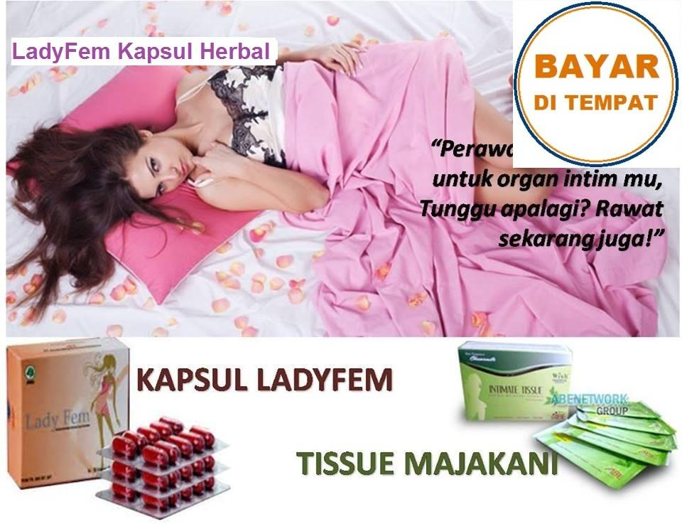 LadyFem Surabaya Kapsul Herbal (Original)