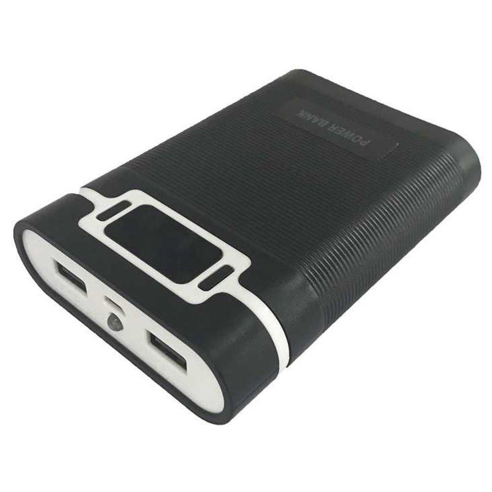 DIY Power Bank Case 2 USB Port & LCD 4x18650