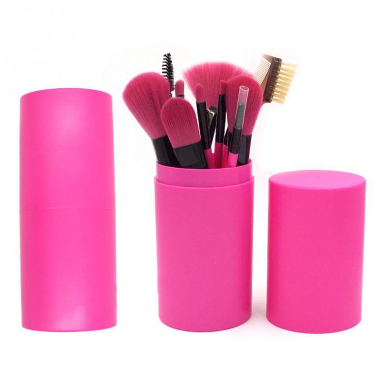 Atdiva Import Berkualitas Kuas Make Up Set 12 Plus Tabung / Set Brush Make Up /