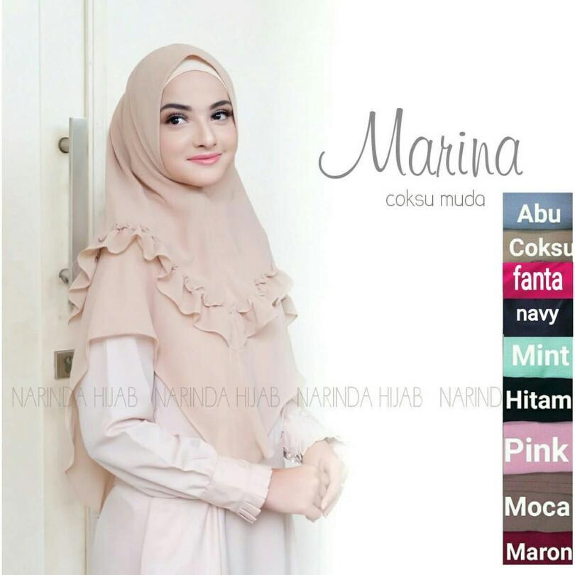 Jilbab Instan Cantik Marina