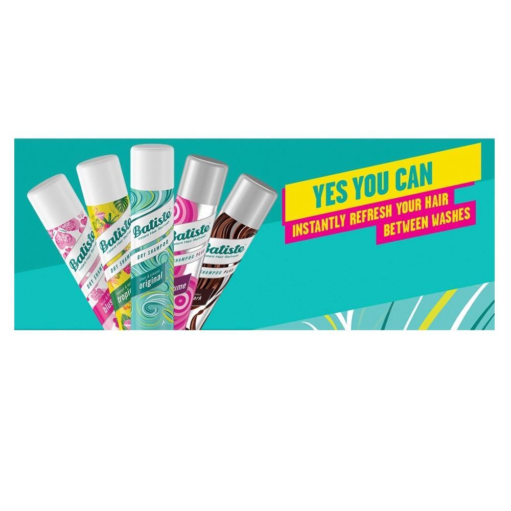 Kelebihan Batiste Dry Shampoo Xxl Spray 200ml Terkini Daftar Harga Wild 5