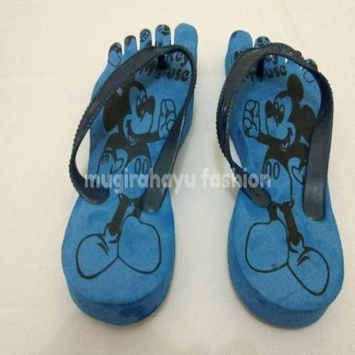 Sandal Jepit Anak Karakter Mickey Mouse