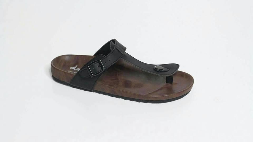 Sendal Dep Sandal Pria Original Kulit Casual Pria Slip / Slop / Sandal Pria Kulit Jepit