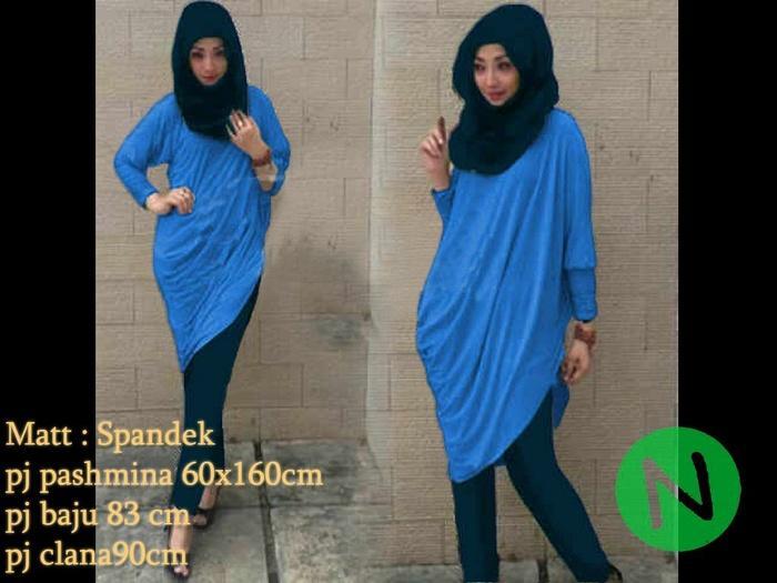pipik stelan 7104 / agen baju wanita / hijab / dropship