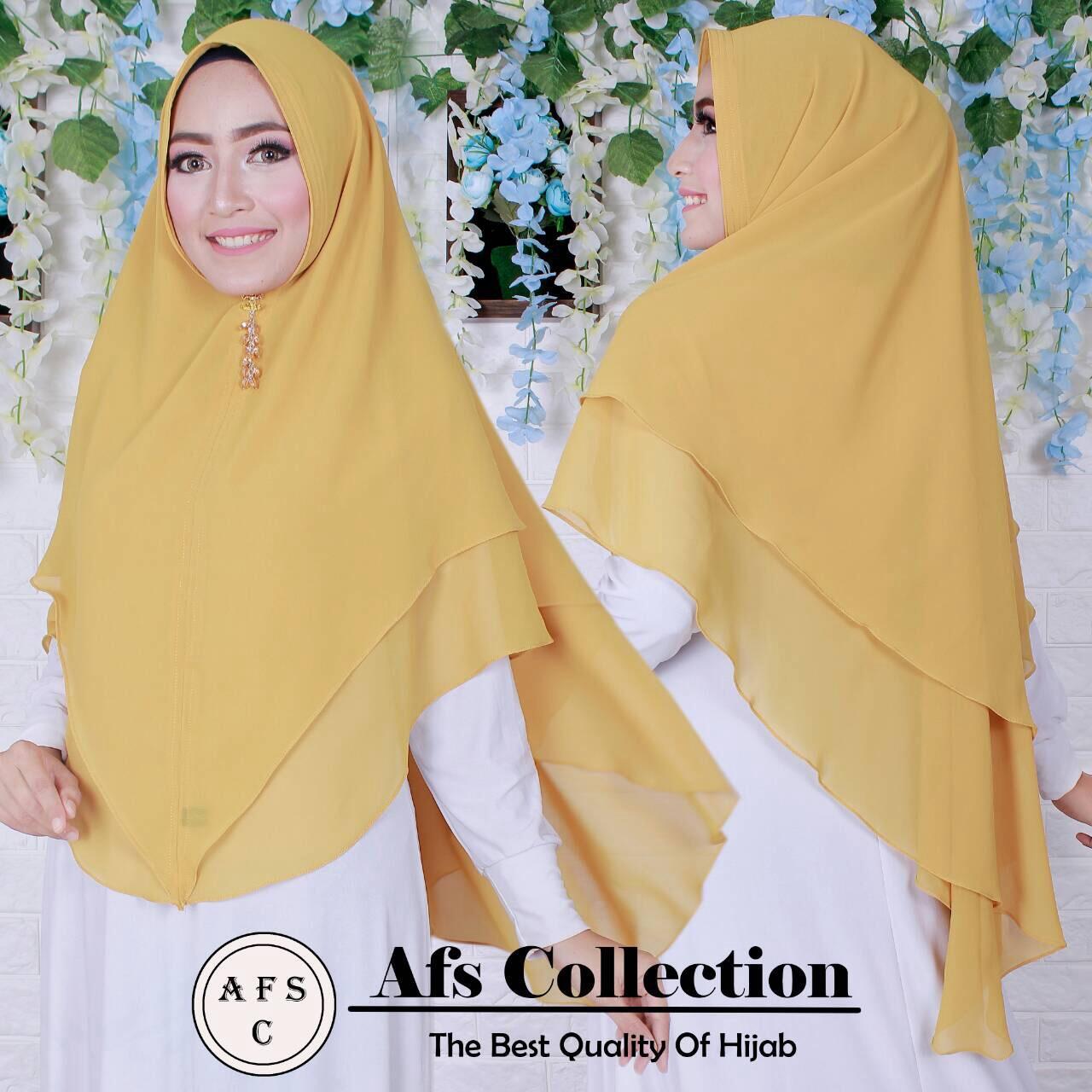 Fitur Jilbab Instan Kerudung Hijab Syari Bergo Farida Dan Harga