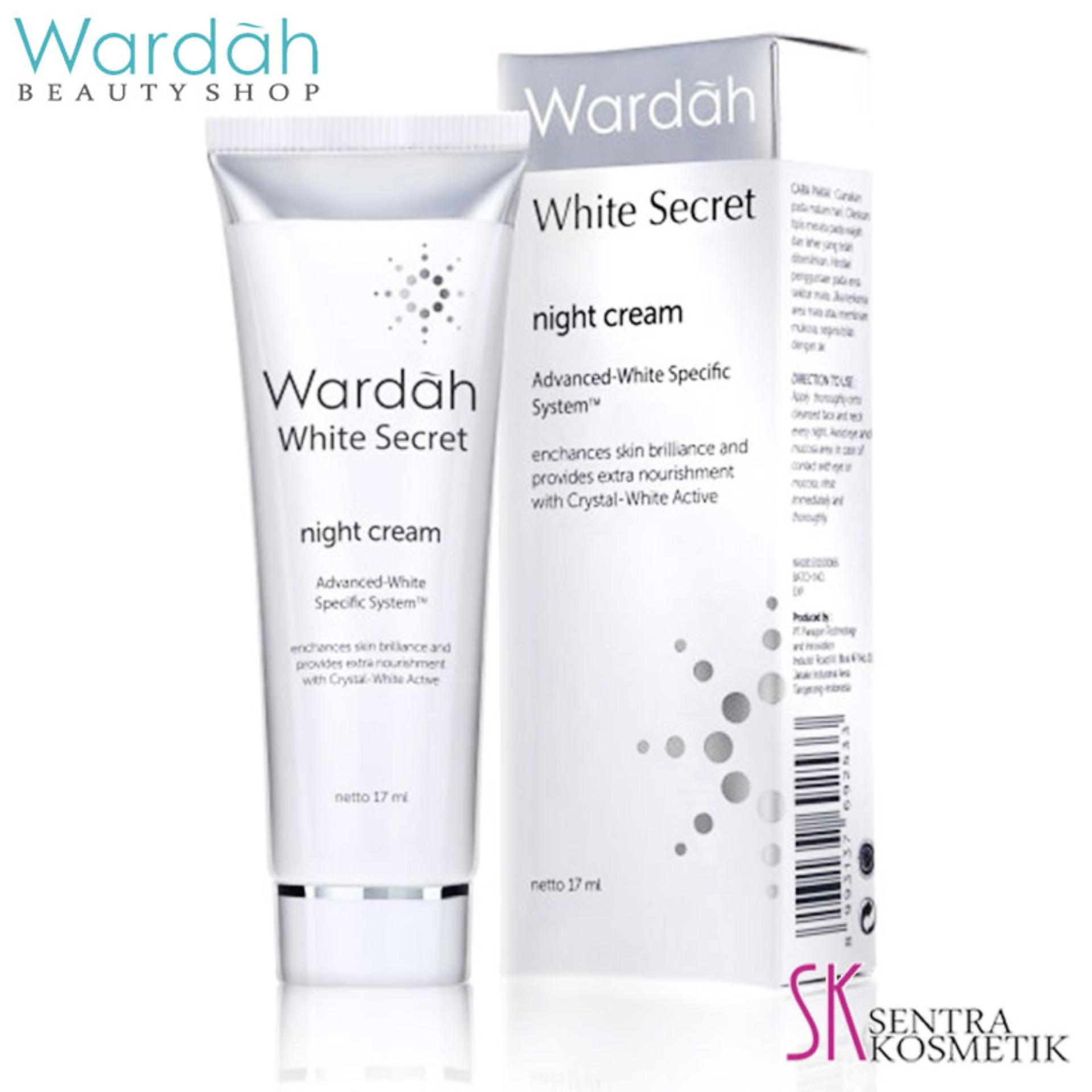 Wardah White Secret Night Cream - 17ml