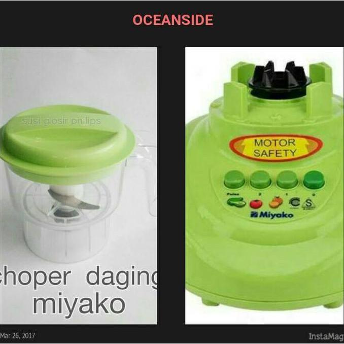 Choper Daging Baru Dan Mesin Blender Miyako Second - Asasf