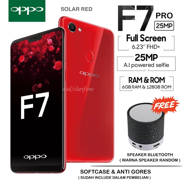 OPPO F7 PRO - RAM 6GB - ROM 128GB - GARANSI RESMI