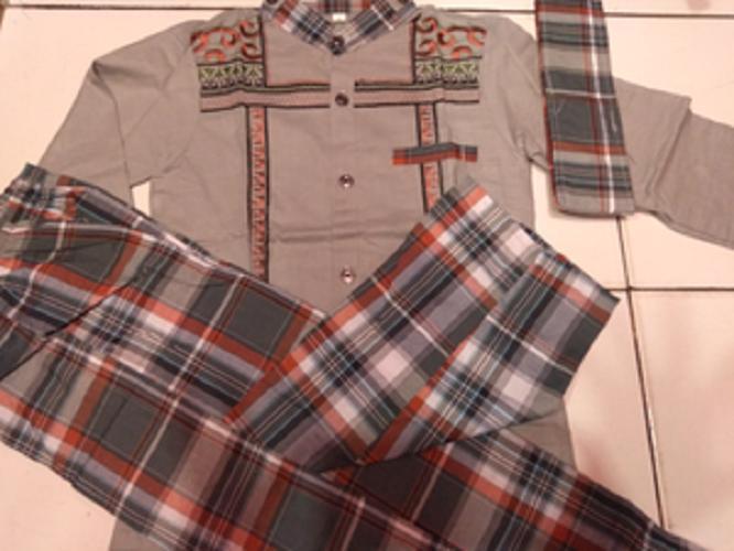 Baju koko anak + celana sarung anak