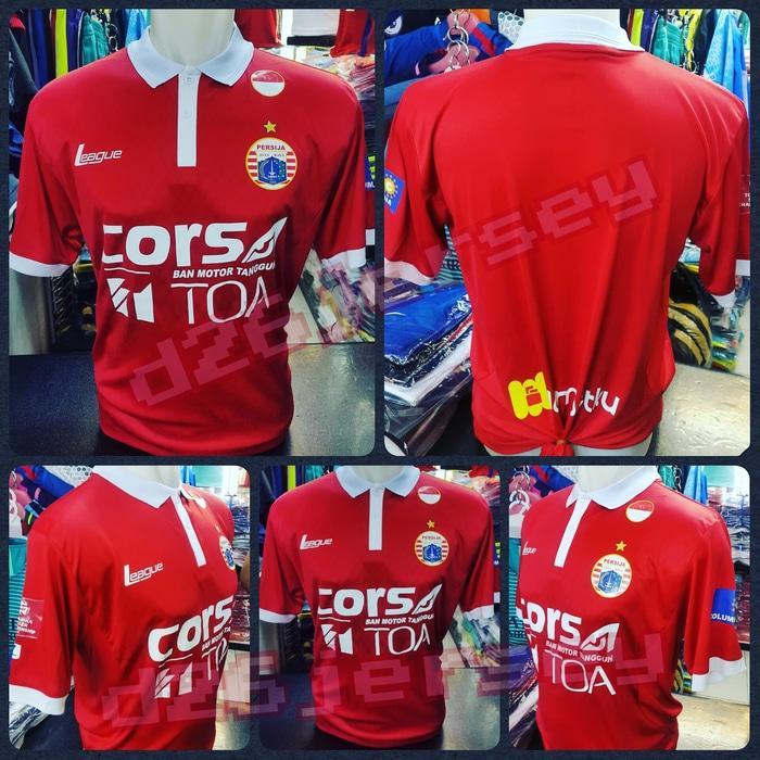 Jersey Persija Jakarta Home TSC 2016 + Full Sponsor terbaru + Patch - WlqEoS