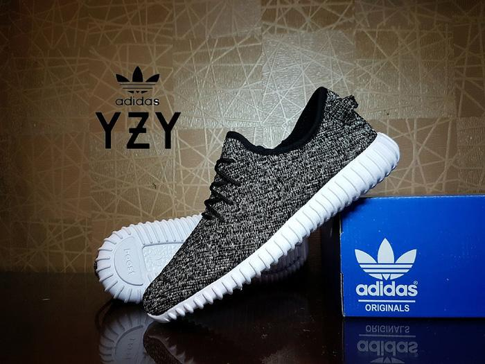 614ded025 ... where to buy sepatu casual adidas yeezy boost 350 grey premium couple  pria wanita 1b34f 0b937