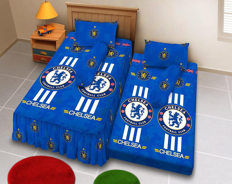 Kintakun D'luxe Sprei 2in1 - 120 x 200 (Single) - The Blues