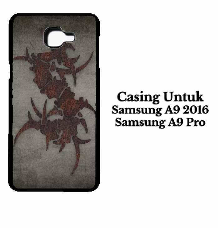 Casing SAMSUNG A9 PRO 2016 sepultura dark Hardcase Custom Case Se7enstores