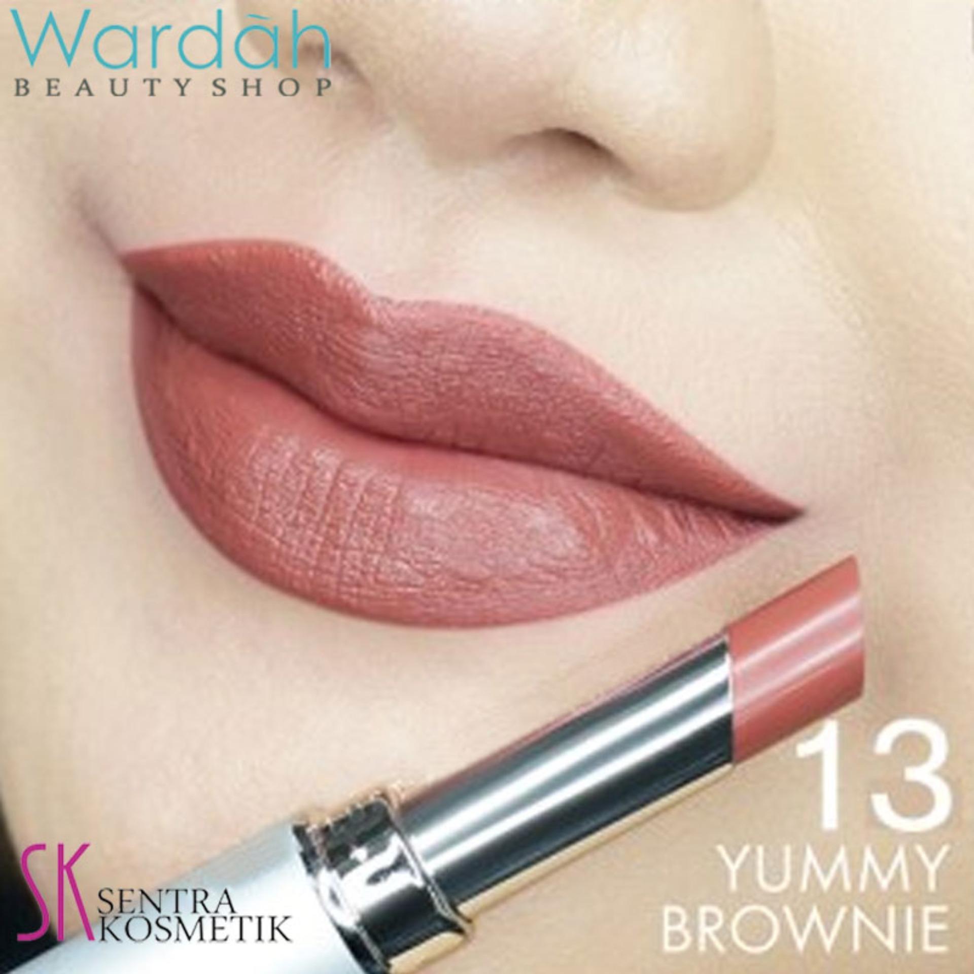 Wardah INTENSE MATTE LIPSTICK 13 - Yummy Brownie