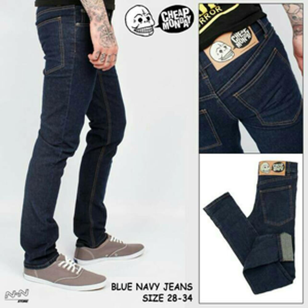 Ahf Celana Panjang Jeans Skinny Pensil Cheap Monday Biru Muda Bombboogie Slimfit 73 Medium Blue 43s73b3ml 30 Gambar Produk Dongker Light Lengkap