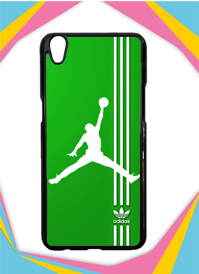 Casing Hardcase Custom OPPO A37F Adidas Logo Air Jordan X3125 Case Cover
