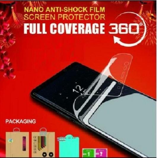 Anti Gores Anti Shock Film Screen Protector Samsung A9 - Depan Belakang