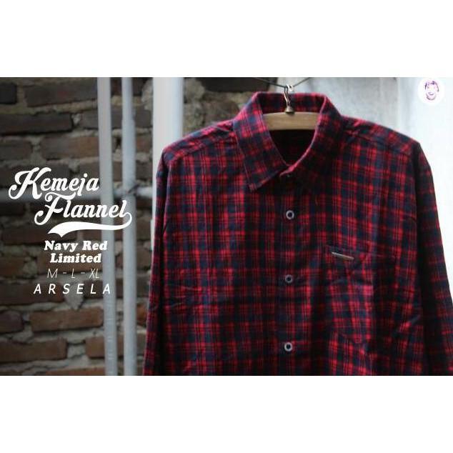 Kemeja Flannel Branded Murah Sumatera Kallimantan Surabaya Malang - Nrmmig