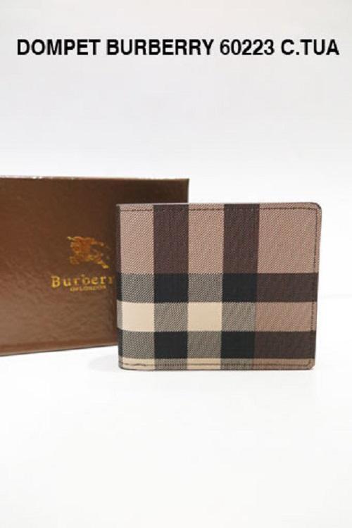 DOMPET KULIT BRANDED PRIA | DOMPET COWOK BURBERRY C.TUA 60223 - Fasionable & Elegant