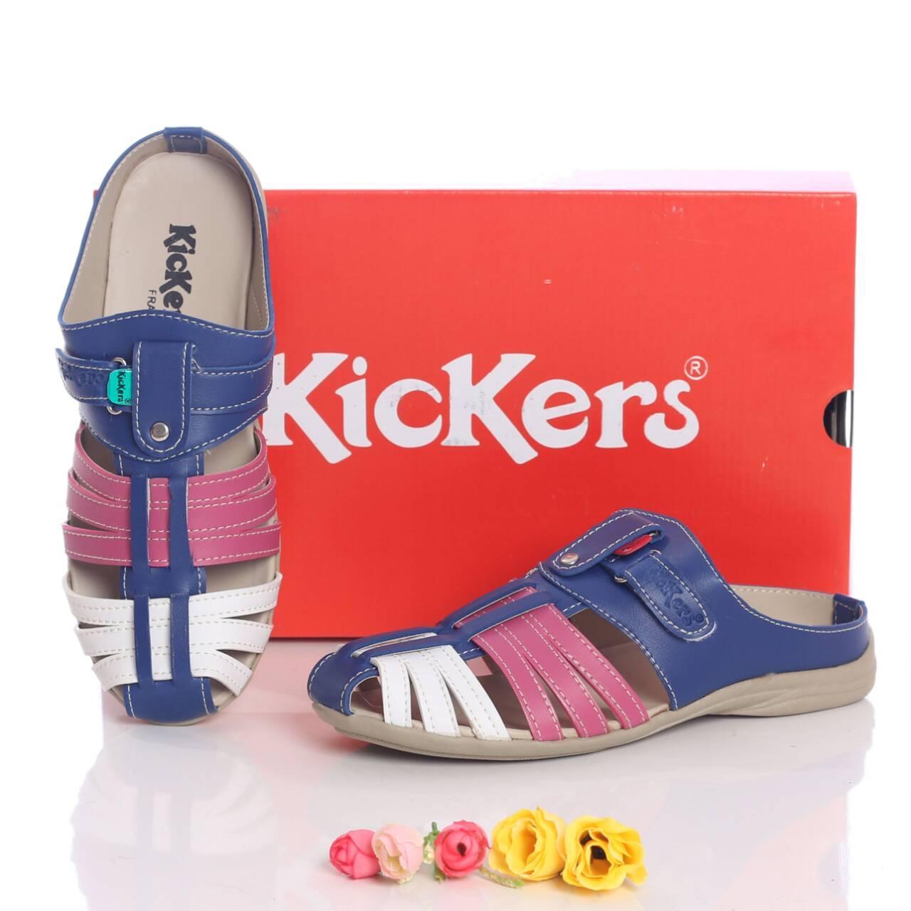 Promo sepatu murah wanita cewek sandal KICKERS bustong Fashion