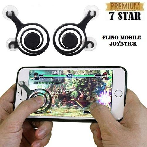 Fling Mobile Joystick Controller 7STAR Game Android Mobile Legend Game Pad MOBA for Universal Smartphone - Random Colour 1Pcs