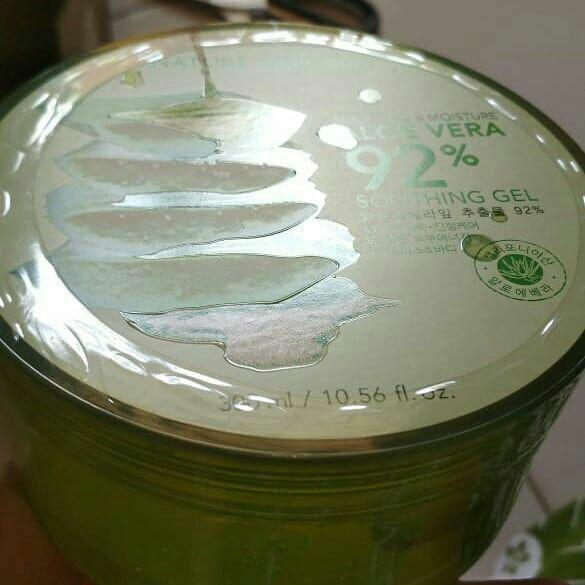 [TERMURAH SEMARANG] Nature Republic 92% Aloe Vera Soothing Gel 300 ml
