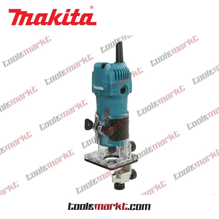 ORIGINAL - Makita 3709 Mesin Profil Kayu Mini Trimmer Router