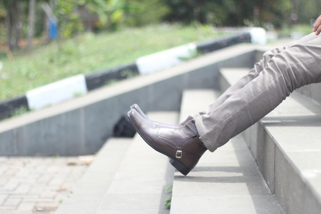 BRODO Sepatu Pantofel Pria -Sepatu Kulit Asli - sepatu formal pria - 4