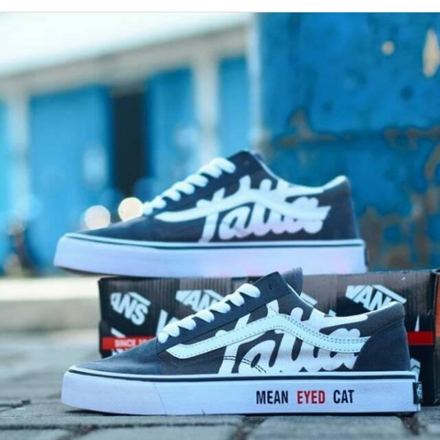 Sepatu Sneakers Skate Vans Old Skull Patta Premium Cowo - Smart4K ... c3ee169242
