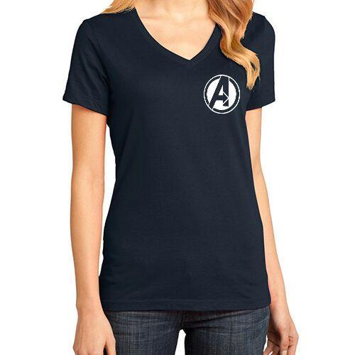 YGTSHIRT - T-shirt HEROES II V-Neck Tumblr Tee Cewek / Kaos Wanita