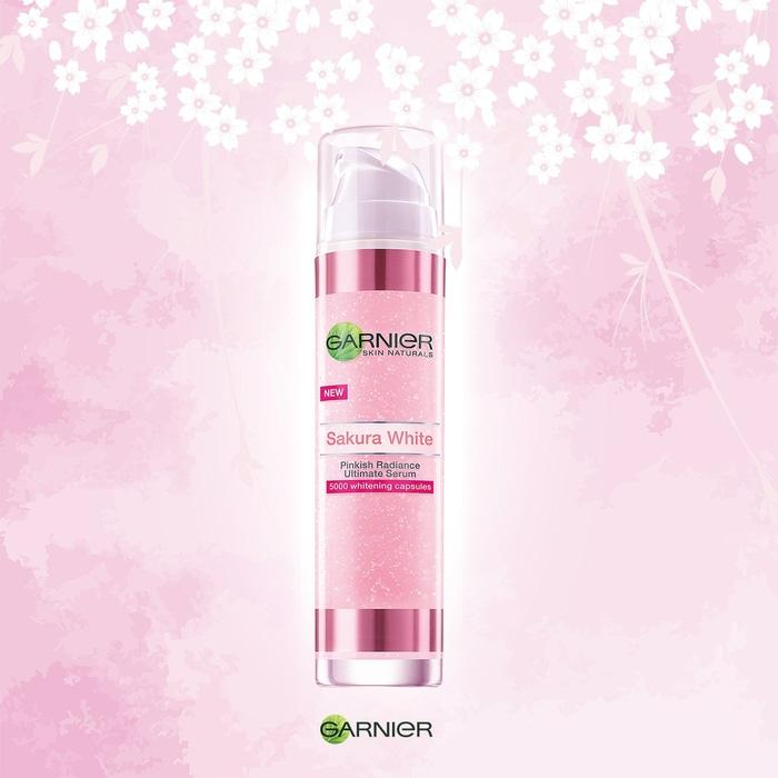 Garnier /Sakura White Pinkish Radiance Ultimate Serum /50ml