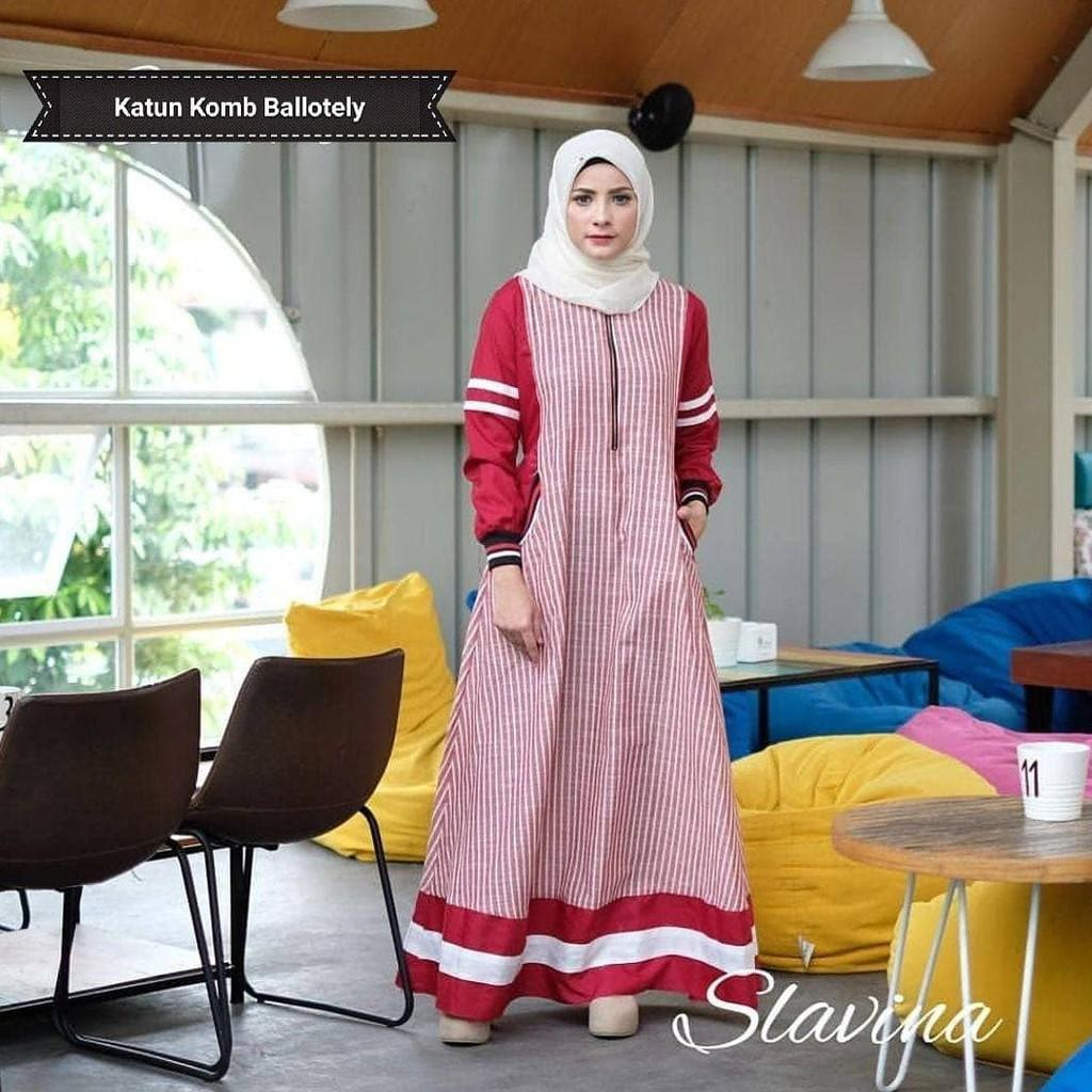 Jual Murah Dress Murah/Grosir Dress Murah/SLAVINA DRESS VG001